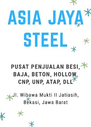 ASIA JAYA STEEL NEW BANNER