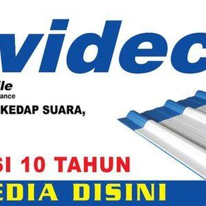 Invideck Atap UPVC 3 Lapis 3mm Warna Putih Biru Harga Murah Berkualitas di  lapak lapak perkakas indonesia | Bukalapak